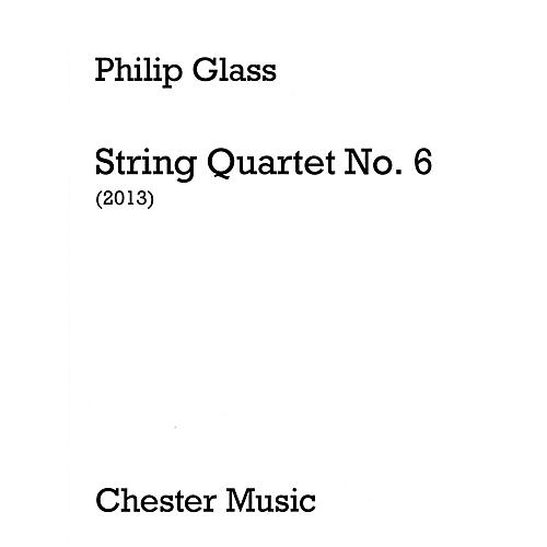 Music Sales String Quartet No. 6 (Score Only) Music Sales America Series Softcover Composed by Philip Glass