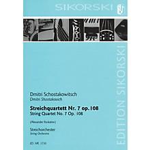 Sikorski String Quartet No. 7, Op. 108 (for String Orchestra Study Score) Study Score Series by Alexander Raskatov