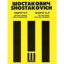 DSCH String Quartet No. 9, Op. 117 (Score) DSCH Series Composed by Dmitri Shostakovich