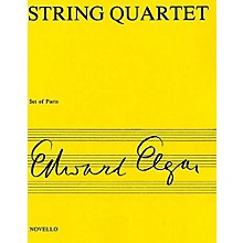 Novello String Quartet Op. 83 Music Sales America Series Composed by Edward Elgar