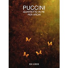 Ricordi String Quartet in D (Parts) String Series Composed by Giacomo Puccini