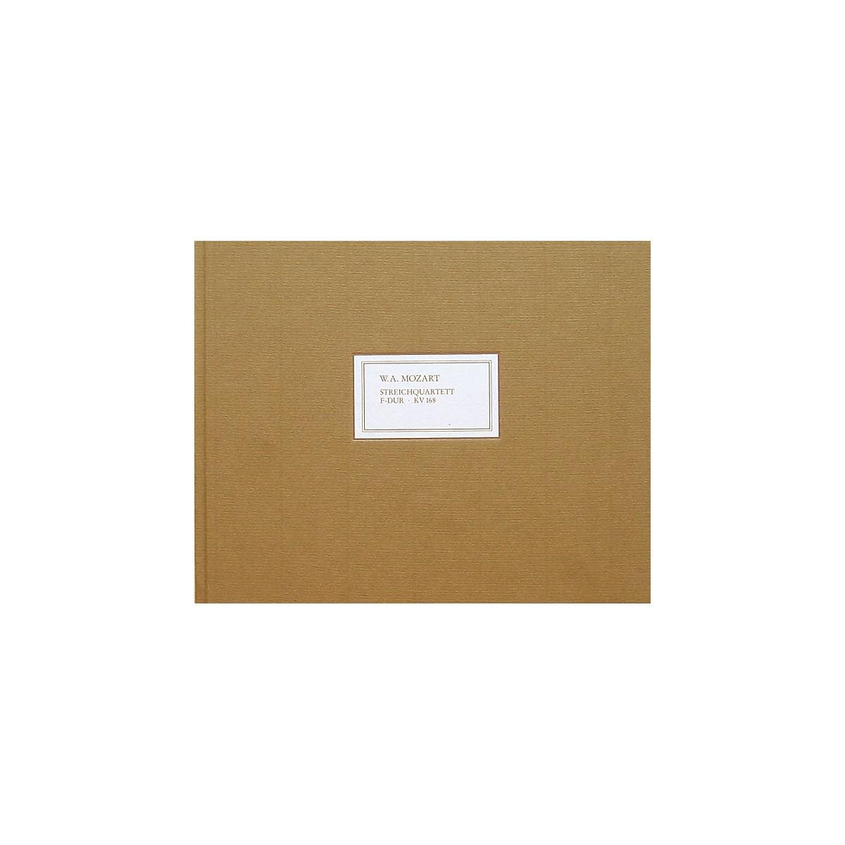 G. Henle Verlag String Quartet in F Major K168 (Facsimile) Henle Facsimile Series Hardcover