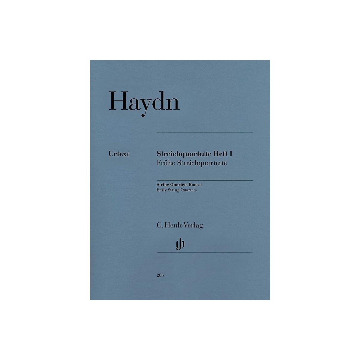 G. Henle Verlag String Quartets - Volume I Henle Music Folios Series Softcover Composed by Franz Josef Haydn