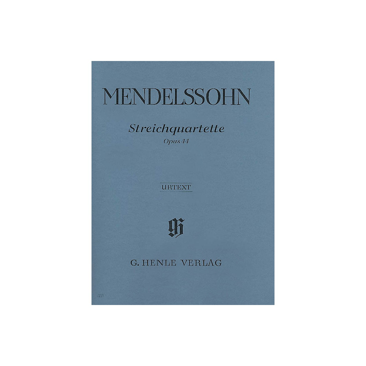 G. Henle Verlag String Quartets Op. 44, No. 1-3 Henle Music Folios Series Softcover Composed by Felix Mendelssohn
