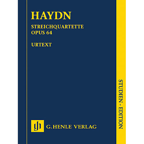 G. Henle Verlag String Quartets Volume 8, Op. 64 (Second Tost Quartets) Henle Music Folios Series by Joseph Haydn