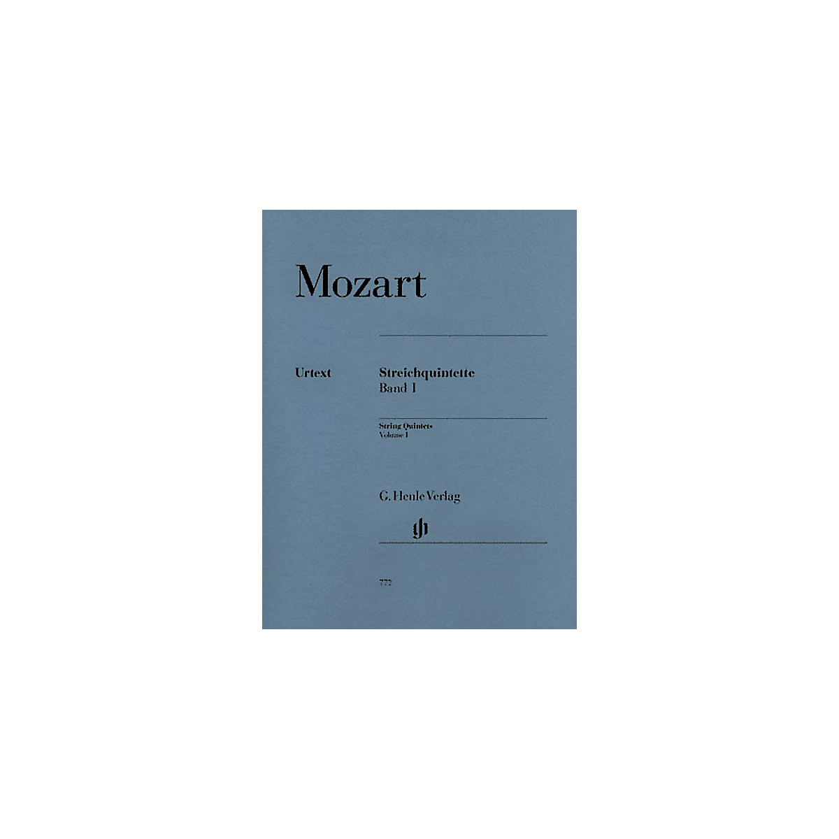 G. Henle Verlag String Quintets - Volume I (Parts) Henle Music Folios Series Softcover by Wolfgang Amadeus Mozart