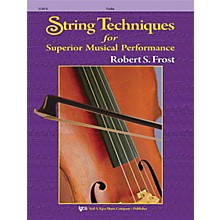 KJOS String Techniques for Superior Musical Performance Viola