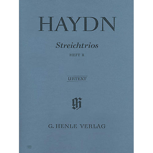 G. Henle Verlag String Trios - Volume 2 Henle Music Folios Series Softcover Composed by Joseph Haydn