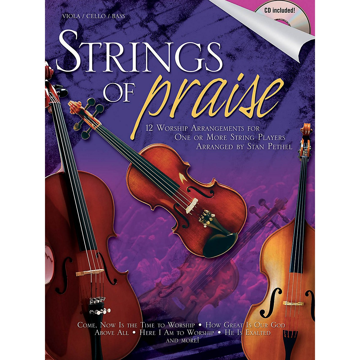 Shawnee Press Strings of Praise Shawnee Press Series Softcover with CD