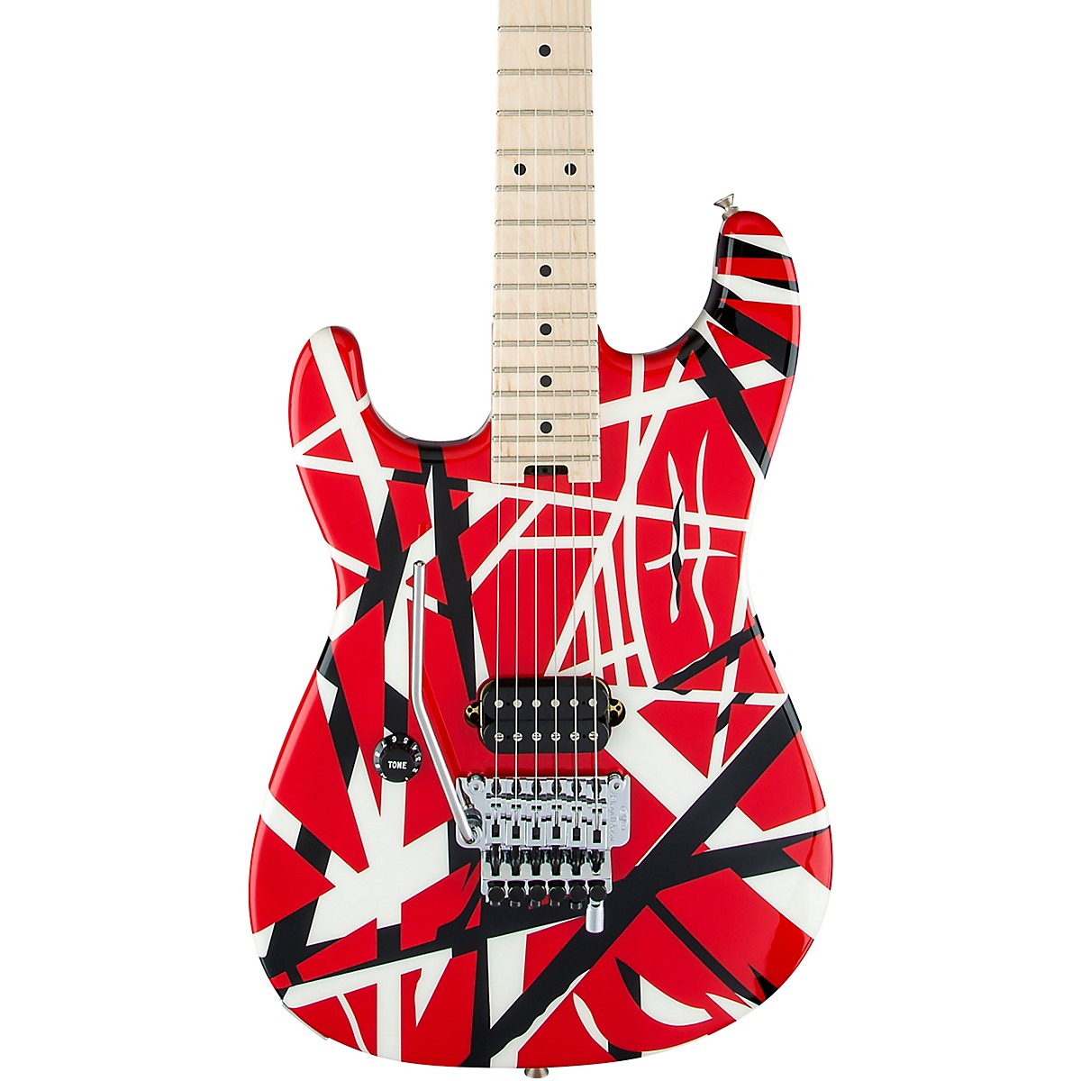 EVH Striped Series Left-Handed Electric Guitar
