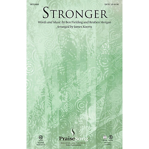 PraiseSong Stronger ORCHESTRA ACCOMPANIMENT Arranged by James Koerts