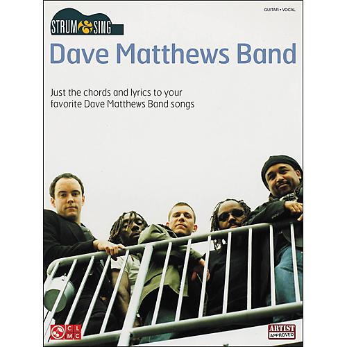 Cherry Lane Strum & Sing Dave Matthews Band Easy Guitar Series Guitar Tab Songbook