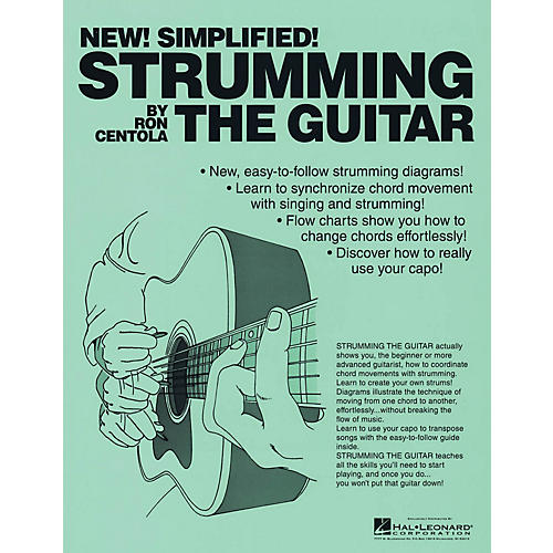 CSI Strumming the Guitar Book Series Softcover Written by Ron Centola