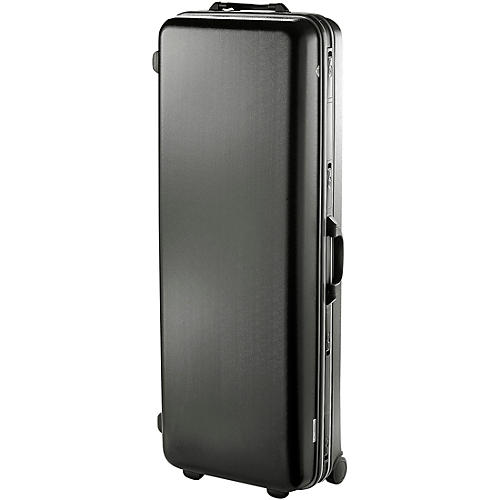GL Cases Student Baritone Saxophone Black ABS Case