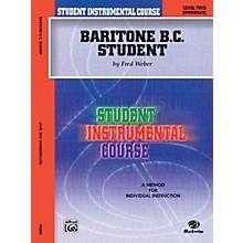 Alfred Student Instrumental Course Baritone (B.C.) Student Level II