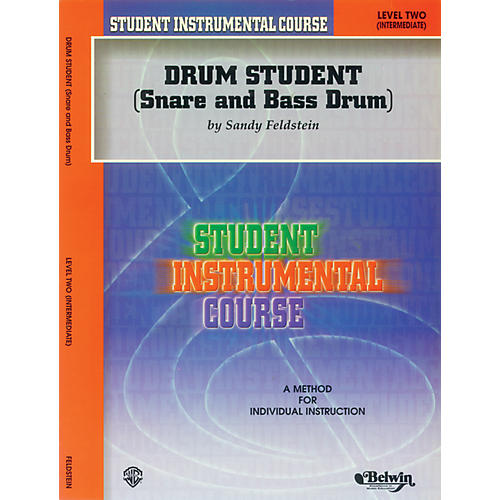Alfred Student Instrumental Course Drum Student Level II