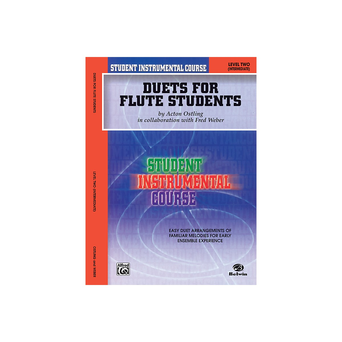 Alfred Student Instrumental Course Duets for Flute Students Level 2 Book