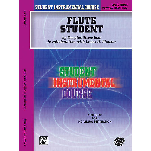 Alfred Student Instrumental Course Flute Student Level 3 Book