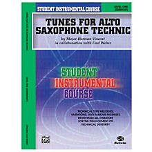 Alfred Student Instrumental Course Tunes for Alto Saxophone Technic Level I Book