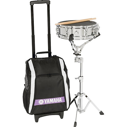 Yamaha Student Snare Drum Kit with Backpack and Rolling Cart