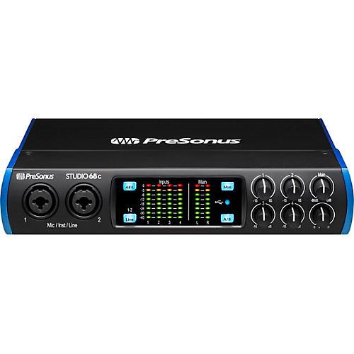 Presonus Studio 68c USB-C 6x6 Audio/MIDI Interface