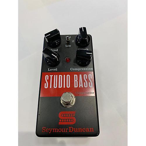 Seymour Duncan Studio Bass Compressor Bass Effect Pedal