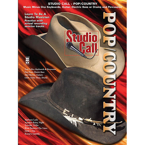 Music Minus One Studio Call: Pop/Country Minus Drums Music Minus One Series Softcover with CD