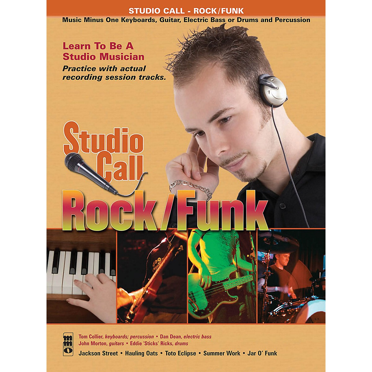 Music Minus One Studio Call: Rock/Funk - Bass/Electric Bass Music Minus One Series Softcover with CD