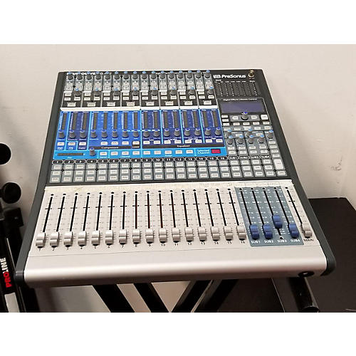 used presonus studio live 16 4 2 digital mixer guitar center. Black Bedroom Furniture Sets. Home Design Ideas