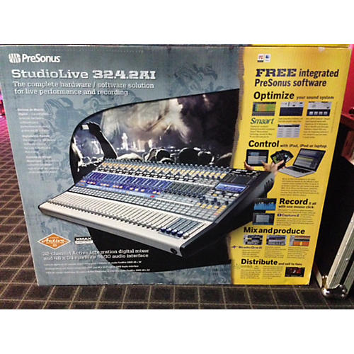 PreSonus Studio Live 32.4.2AI NIB Digital Mixer