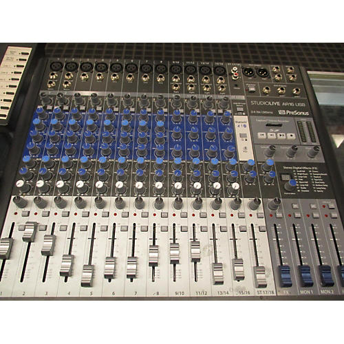 PreSonus Studio Live AR16 Unpowered Mixer