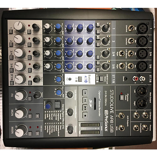 Presonus Studio Live Ar8 Usb Digital Mixer