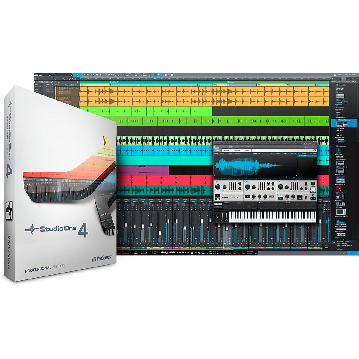 Presonus Studio One 4 Professional Educational Version Software Download