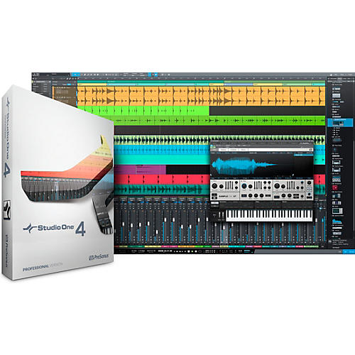 PreSonus Studio One 4 Professional Upgrade from Any Producer or Professional Boxed Version