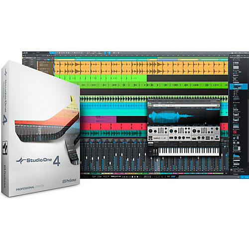Presonus Studio One 4 Professional Upgrade from Artist Software Download