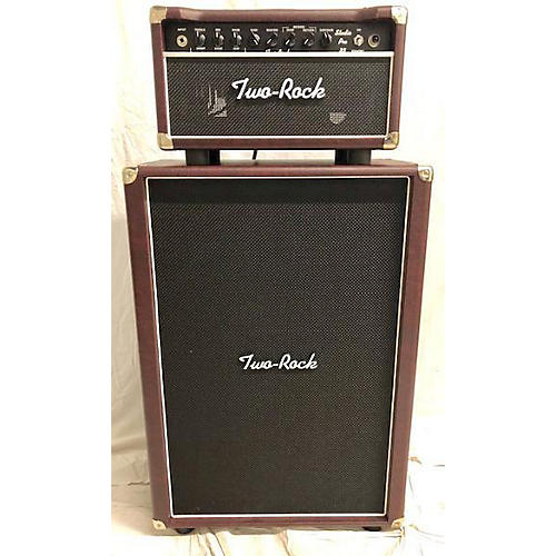 Two Rock Studio Pro 35W W/ Matching 2x12 Cabinet Guitar Stack
