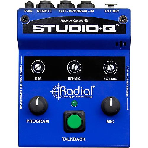 Radial Engineering Studio-Q Desktop Cue & Talkback Controller