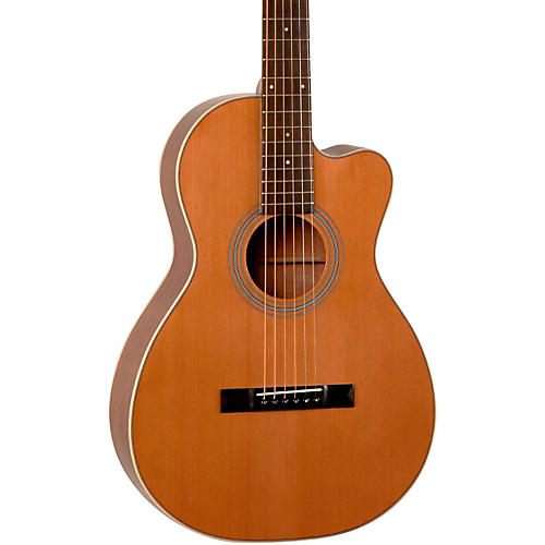 Recording King Studio Series 12 Fret Cutaway ThermoCure Top 0 Acoustic Guitar