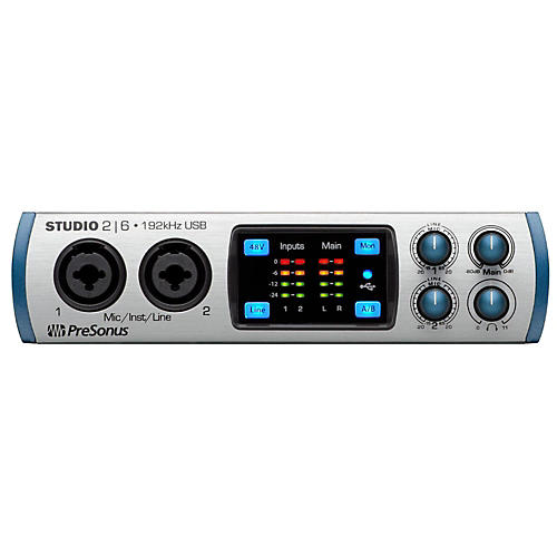 Presonus Studio26 (2x4 USB 2.0 24-bit 192 kHz Audio Interface)