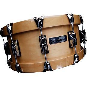 open box taye drums studiobirch wood hoop snare drum 14 x 6 natural maple finish guitar center. Black Bedroom Furniture Sets. Home Design Ideas