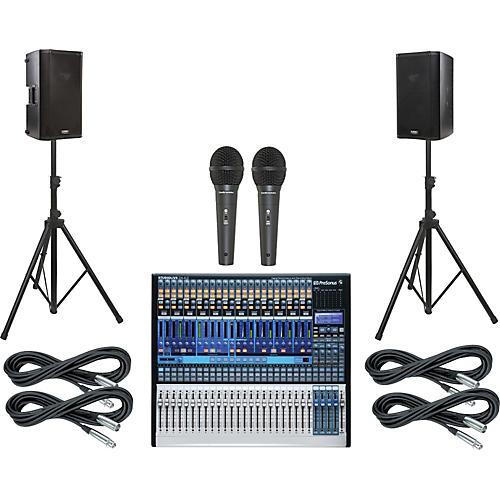 Presonus StudioLive 24.4.2 PA Package with QSC K10 Speakers