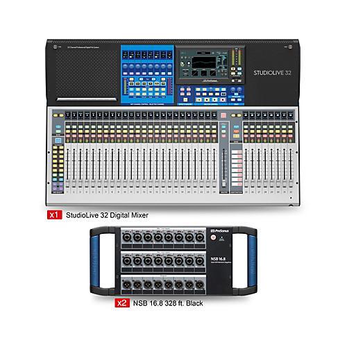 Presonus StudioLive 32 Starter Dual Stagebox Mix Package