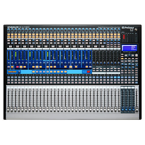 presonus studiolive 32 4 2 ai 32 channel digital mixer with active integration guitar center. Black Bedroom Furniture Sets. Home Design Ideas