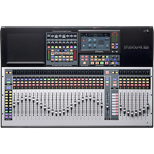 Presonus StudioLive 32S 32-Channel Mixer with 26 Mix Busses and 64x64 USB Interface