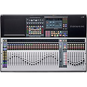 StudioLive 64S 64-Channel Mixer with 43 Mix Busses, 33 Motorized Faders and 64x64 USB Interface