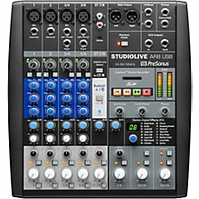Presonus StudioLive AR8 8-Channel Hybrid Digital/Analog Performance Mixer Level 1
