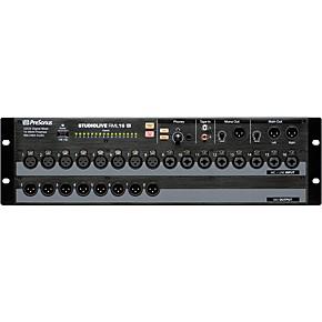 presonus studiolive rml 16ai 16 channel rackmount digital mixer guitar center. Black Bedroom Furniture Sets. Home Design Ideas