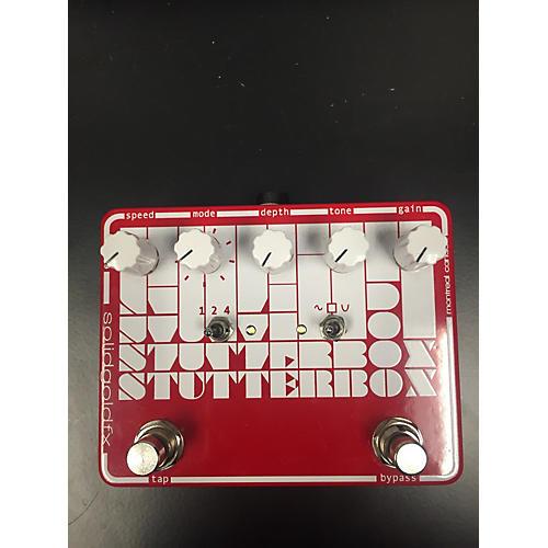 SolidGoldFX Stutterbox Effect Pedal