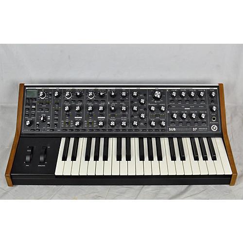 used moog sub 37 synthesizer guitar center. Black Bedroom Furniture Sets. Home Design Ideas