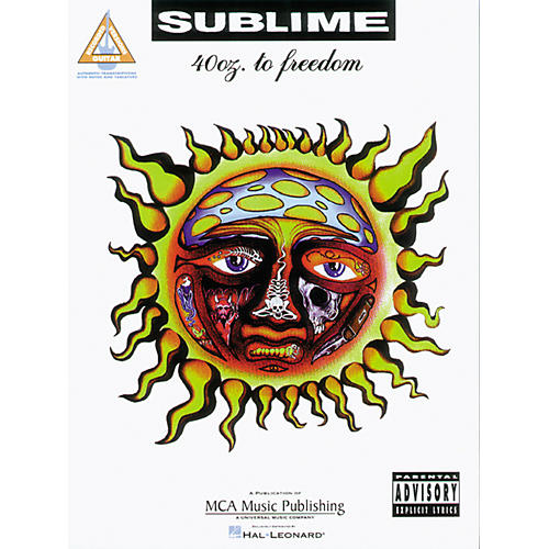 Hal Leonard Sublime 40 Oz to Freedom Guitar Tab Songbook
